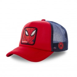 Casquette Capslab Marvel Spider Man rouge