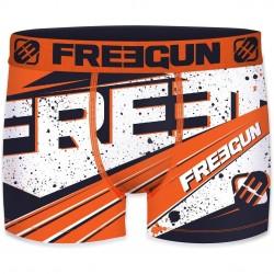 Boxer Garçon Freegun Ink Orange