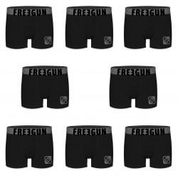 Boxers homme microfibre Packx8 Freegun E1