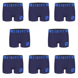 Boxers homme microphibre Packx8 Freegun E3