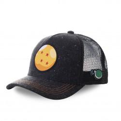 Casquette trucker Capslab Dragon Ball Z Ball Noir