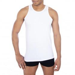 Debardeur coton homme Fila 5033 Blanc