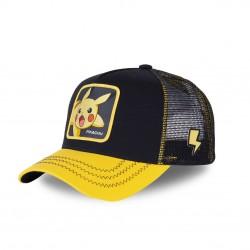 Casquette Capslab Pokemon Pikachu Noir et Jaune
