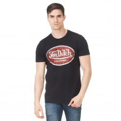 T-shirt homme Von Dutch Aaron'19 Noir