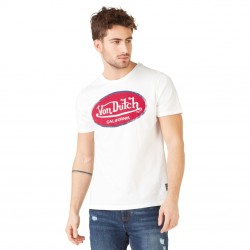 T-shirt homme Von Dutch Aaron'19 Blanc