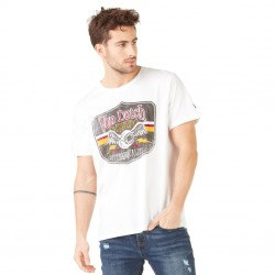 T-shirt homme Von Dutch Gas Blanc